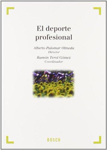 9788497904933: El deporte profesional : estudios previos