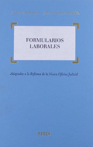9788497907491: Formularios Laborales