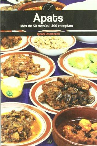 9788497914635: apats. Mes de 50 menus i 400 receptes