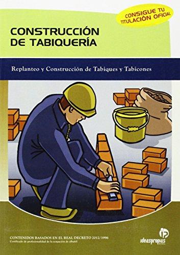 9788497921473: Contrucción de tabiquería