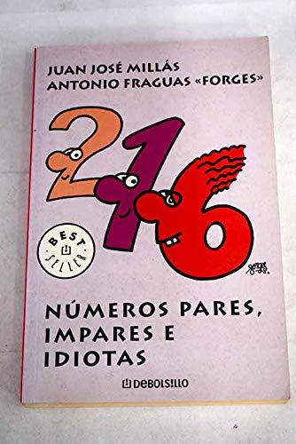 9788497931595: Numeros pares, impares e idiotas (Bestseller (debolsillo))