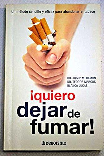 9788497939942: Quiero dejar de fumar (Autoayuda / Self-help)