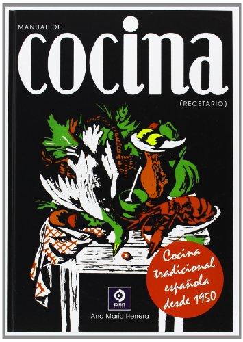 9788497940931: Manual de Cocina Recetario