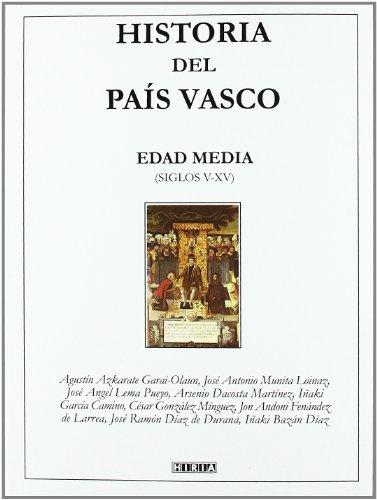 9788497970396: HISTORIA DEL PAIS VASCO: EDAD MEDIA (SIGLOS V-XV)