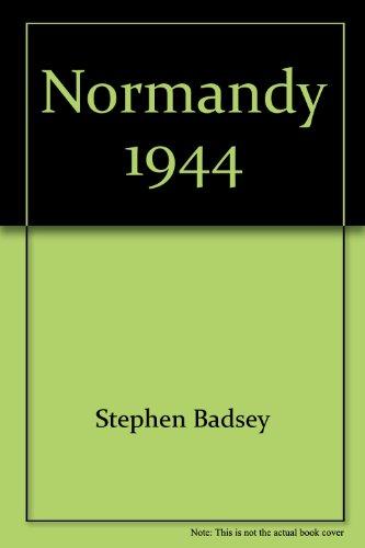 9788497980333: Normandy 1944