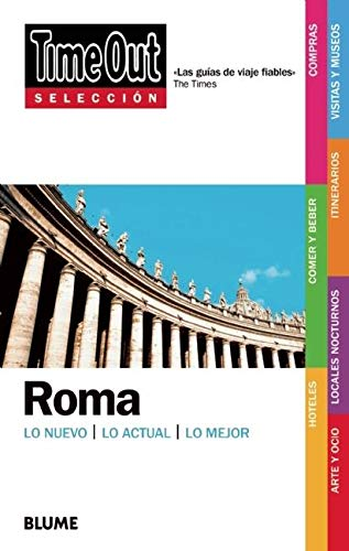 9788498014655: Time Out Selecciones Roma: Time Out Shortlist Rome (Spanish Edition)