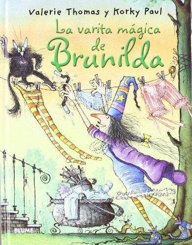 9788498016123: Bruja Brunilda. La varita mágica