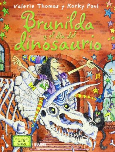 9788498016819: Bruja Brunilda y el día del dinosaurio