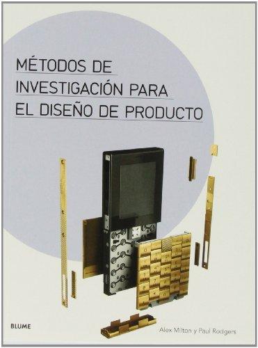 9788498017120: Métodos de investigación para el diseño de producto