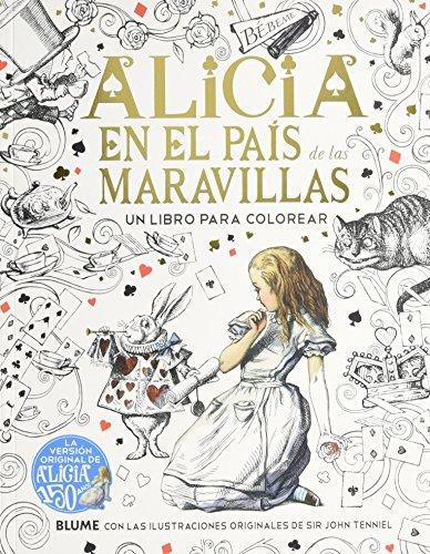 9788498018981: Alicia en el País de las Maravillas: Un libro para colorear