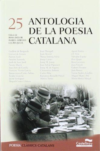 9788498043051: Antologia De La Poesia Catalana (Clàssics Catalans)
