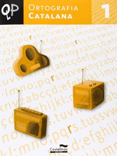 9788498043440: Qp Ortografia Catalana 1 (Cuadernos de Primaria) - 9788498043440