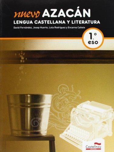 9788498044867: Nuevo Azacán. Lengua Castellana y Literatura 1ºESO