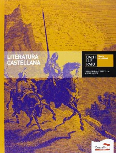 9788498045161: Literatura Castellana Bachillerato - 9788498045161