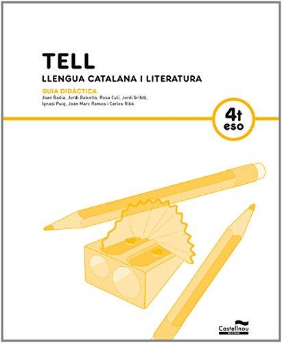 9788498045970: GD Tell. Llengua catalana i literatura 4t ESO