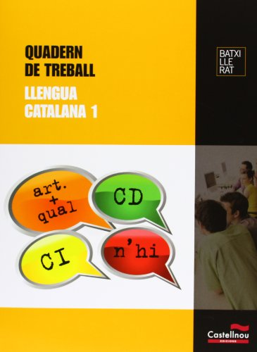 9788498046649: Quadern de treball Llengua Catalana 1 - 9788498046649