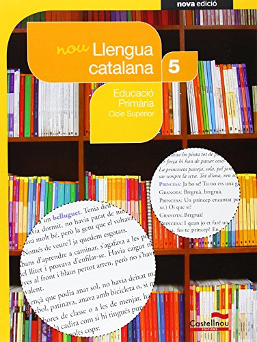 9788498047516: Nou Llengua catalana 5è (Projecte Salvem la Balena Blanca)
