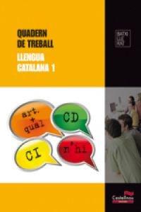 9788498048001: Quadern de Treball. Llengua catalana 1