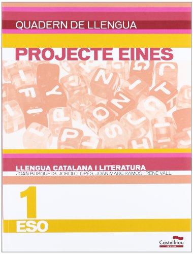 9788498048186: Quadern de llengua. Llengua catalana i literatura 1r ESO. Projecte Eines