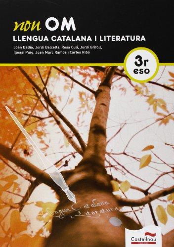 9788498049398: Nou Om. Llengua Catalana I Literatura. 3R ESO - 9788498049398