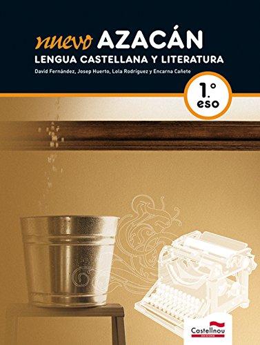 Nuevo Azacán, Lengua Castellana y Literatura,1º ESO: David Fernández Villarroel