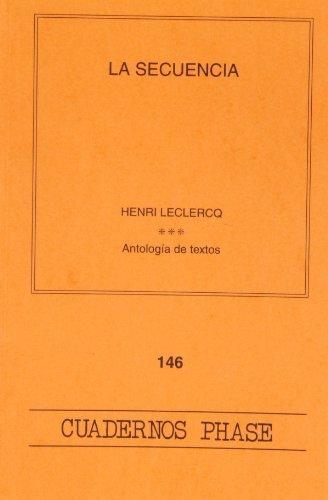 9788498050097: Secuencia, La (CUADERNOS PHASE)