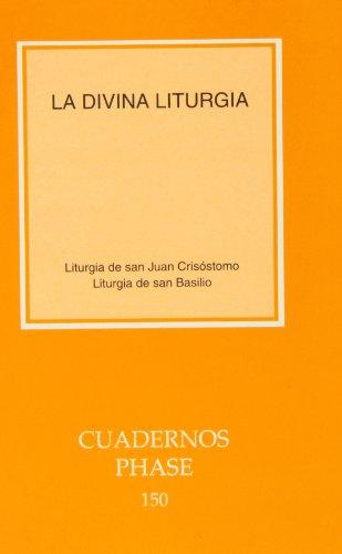9788498050394: Divina Liturgia, La