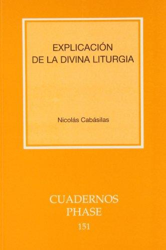 9788498050578: Explicación de la Divina Liturgia (CUADERNOS PHASE)