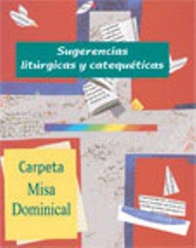 9788498050905: Carpeta de Misa Dominical (hojas verdes): Sugerencias Litúrgicas y Catequéticas