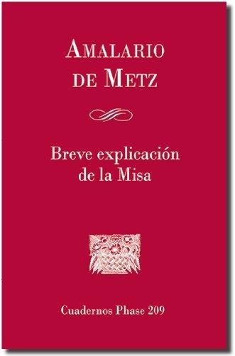 9788498055870: Breve explicación de la Misa (CUADERNOS PHASE)