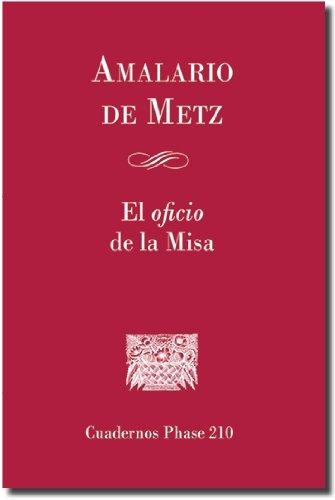 9788498055887: El oficio de misa