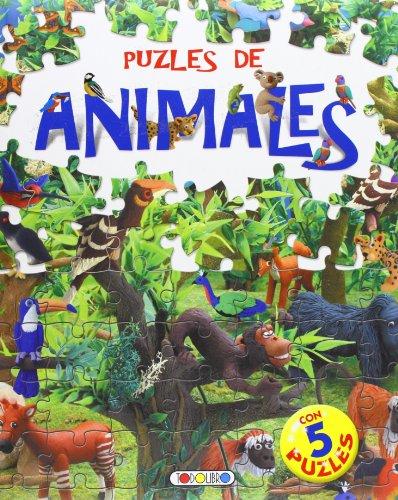9788498062724: Puzles de animales (Libro puzle de 24 piezas)