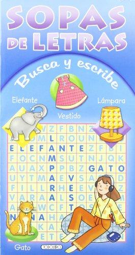 9788498064070: SOPA DE LETRAS- BUSCA Y ESCRIBE( 2 TITULOS)