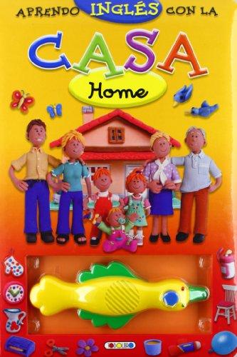 9788498065763: Aprendo inglés con la casa (Lápiz mágico)
