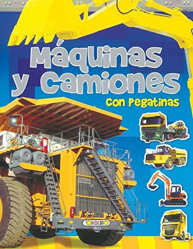 9788498066296: Máquinas y camiones (Imágenes con pegatinas)