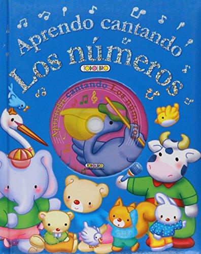 9788498066692: APRENDO CANTANDO LOS NUMEROS C/CD