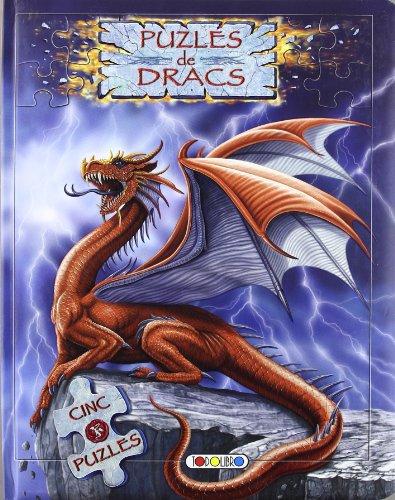 9788498066777: Puzles de dracs (Llibre puzle de 24 peces)