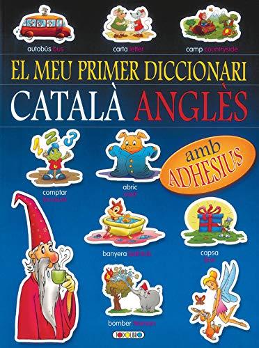 9788498069471: Diccionari català-anglès (blau) (El meu primer diccionari adhes)