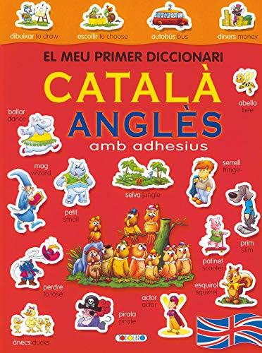 9788498069488: Diccionari català-anglès (vermell) (El meu primer diccionari adhes)