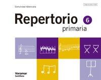 9788498070439: MUSICA REPERTORIO CAST 6 PRIMARIA