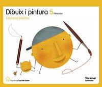 9788498072754: Projecte La Casa del Saber, dibuix i pintura, plàstica, 5 Educació Primària