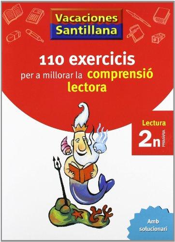 9788498073768: Vacaciónes Santillana 110 Exercicis Per a Millorar La Comprensio Lectora 2 N PriMaría - 9788498073768