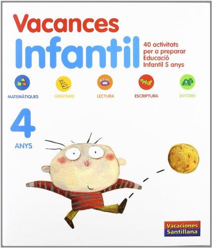 9788498073867: Vacaciónes Santillana, Educació Infantil, 4 anys. Quadern - 9788498073867