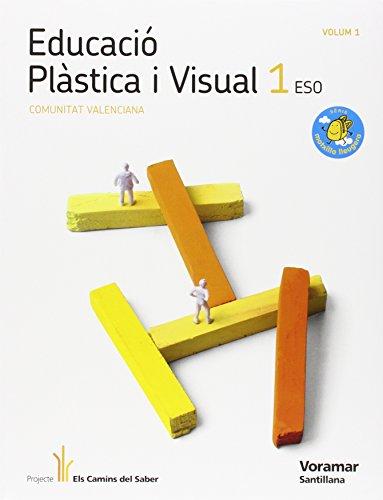 9788498073942: EDUCACIÓ PLASTICA I VISUAL 1 ESO M LLEUGERA ELS CAMINS DEL SABER