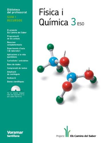 9788498073959: Guia Fisica I química 3 Eso Els Camins Del Saber Valenciano Voramar