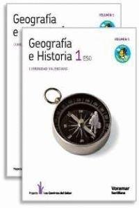 9788498074062: geografia e historia 1 eso castellano voramar los caminos del saber