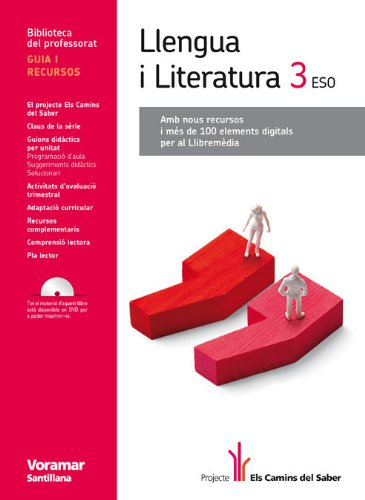 9788498074321: Guia Llengua I Literatura 3 Eso Els Camins Del Saber Valenciano Voramar