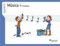 9788498079081: (VAL).(13).QUAD.MUSICA 4T.PRIMARIA (SABER HACER)