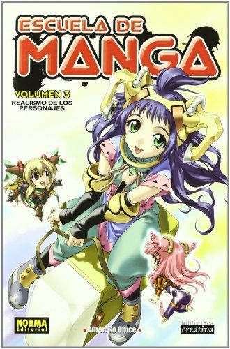 9788498142051: ESCUELA DE MANGA 3. REALISMO DE LOS PERSONAJES (LIBROS TEÓRICOS MANGA)