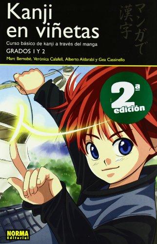 9788498149043: Kanji en Vinetas 1 / Kanji in Mangaland 1: Curso Basico De Kanji a Traves Del Manga: Grados 1 y 2 / Basic Kanji Course Through Manga: Grades 1 and 2 (Spanish Edition)